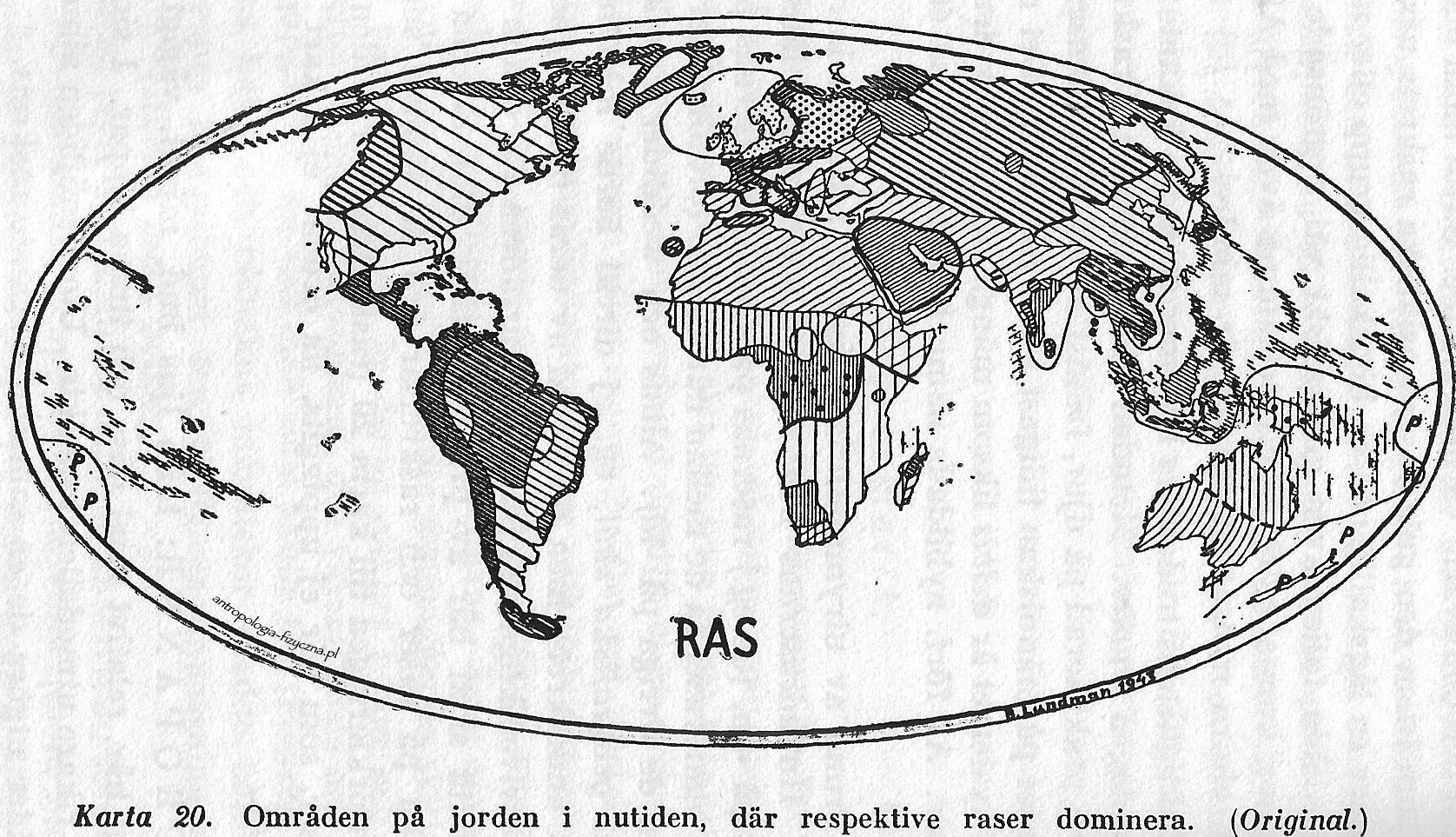 Lundman - races of the world 1943