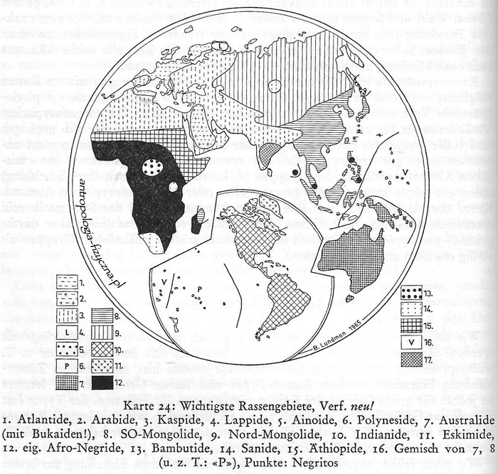 Lundman - races of the world 1967